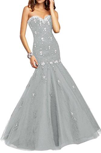 Ivydressing - Vestido - para mujer plata
