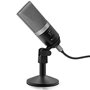 "FIFINE dynamic vocal microphone cardioid handheld microphone with On/Off Switch for Karaoke, Live vocal, Speech etc. includes 19ft XLR to 1/4"" cable(K8) by FIFINE TECHNOLOGY"