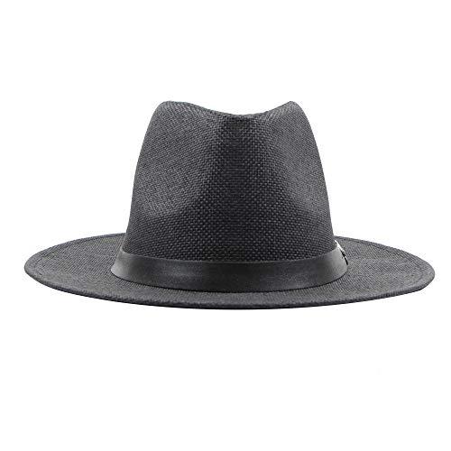Hide on Bush Men Belt Buckle Top Hat Adult Costume Cap Spring Summer (Black)