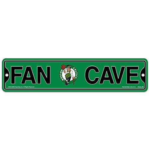 WinCraft Boston Celtics Basketball NBA Plastic 4'' x 17'' Street Sign by WinCraft