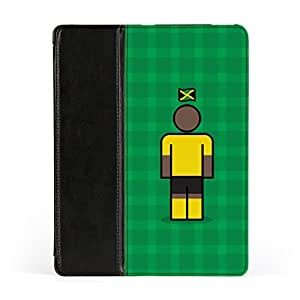 Jamaica Premium Faux PU Leather Case Flip Case for Apple? iPad 2 / 3 and iPad 4 by Blunt Football International + FREE Crystal Clear Screen Protector