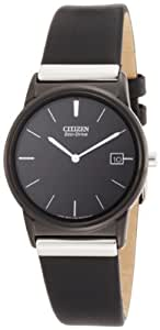 Citizen Men's AU1035-08E Eco-Drive Strap Black Dial Watch