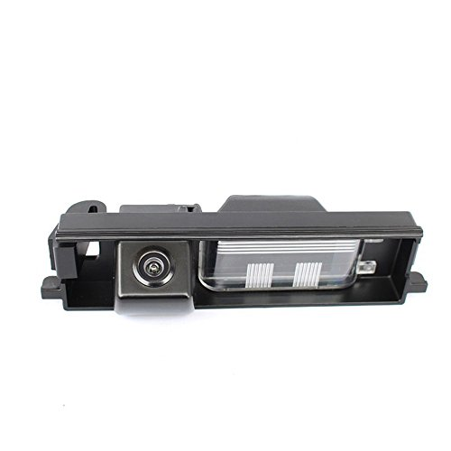 Misayaee Rear View Back Up Reverse Parking Camera in License Plate Lighting Night Version (NTSC) for RAV4 RAV-4 2000-2012