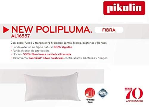 PIKOLIN Almohada New POLIPLUMA DE Fibra SILICOLNADA