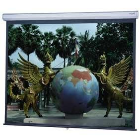 Model C Matte White Manual Projection Screen Viewing Area: 54