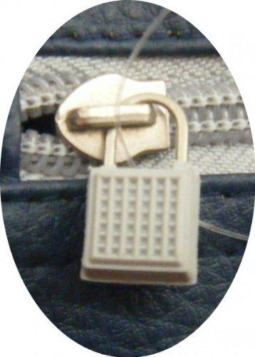 Vespa Umhängetasche klein - blau/grau