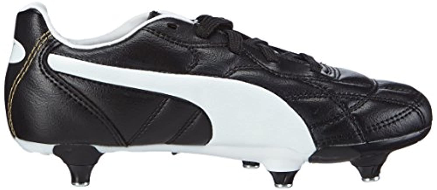 Puma Unisex Kids' Classico Football boots (training) Black Size: 1 UK