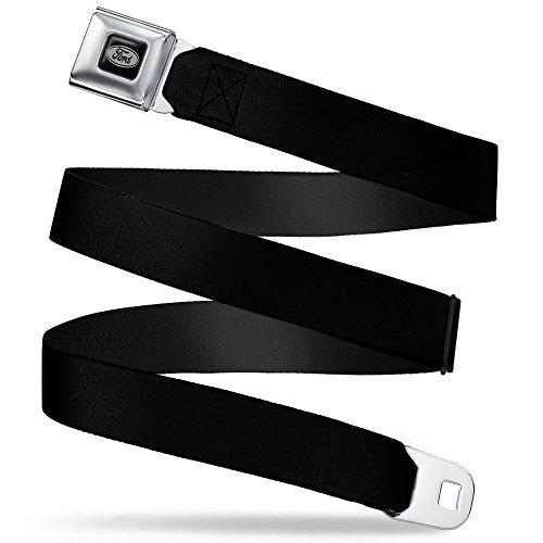 Buckle-Down Seatbelt Belt Ford Black Regular