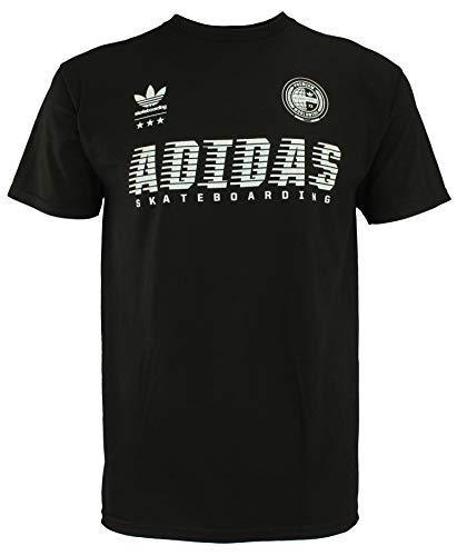 - adidas Men's Super Soft Skateboarding Tee, Black Medium
