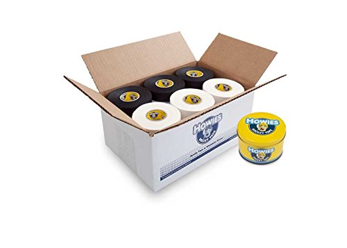 - Howies Hockey Tape - Black Cloth Tape / White Cloth Tape (30 pack) and FREE Tape Tin