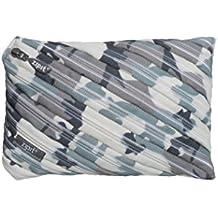 ZIPIT Camo Jumbo Pencil Case, Grey Camouflage