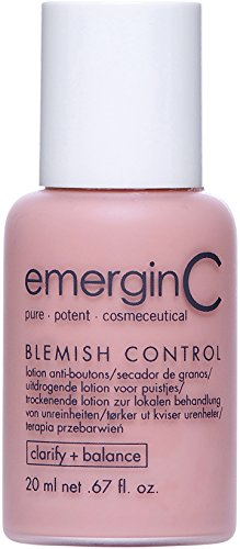 emerginC - Blemish Control, Tinted Spot Treatment with Salicylic Acid to Improve the Appearance of Active Breakouts (1oz / 30 ml)
