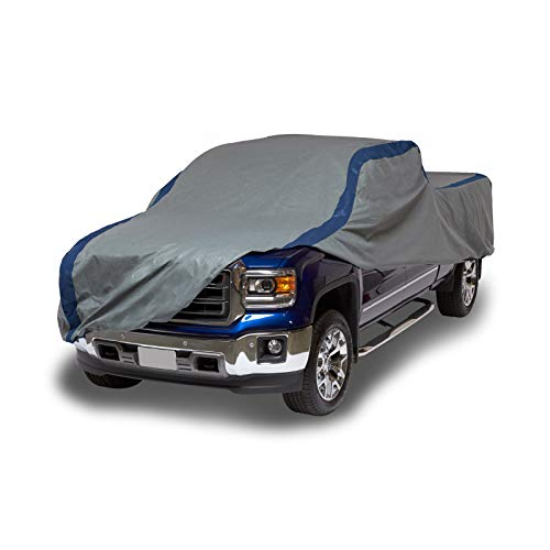 Duck Covers Weather Defender Outdoor Pickup Truck Cover, Limited 4 Year Warranty,  Fits Compact Pickup Trucks with Standard Cab up to 16 feet 5 inches
