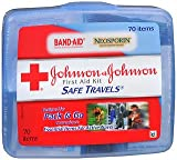 J&J Travel First Aid Size 70pc