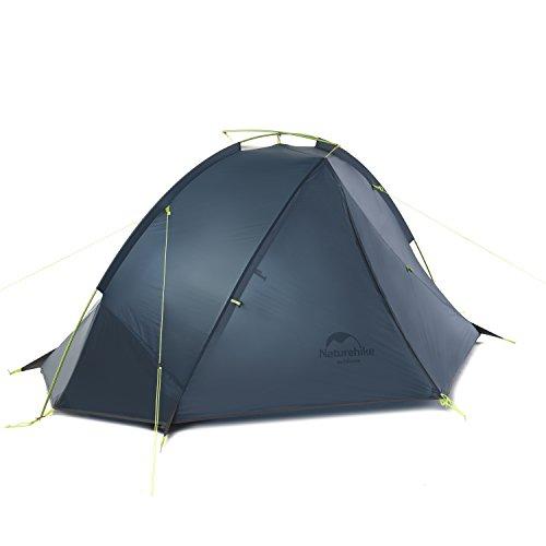 オーナメントスリーブインレイNaturehike公式ショップ テント 超軽量 1人用 2人用 3シーズン アウトドア キャンプ ツーリング 20D防水ナイロン生地 PU4000 防風、防雨、防災(専用グランドシート付)