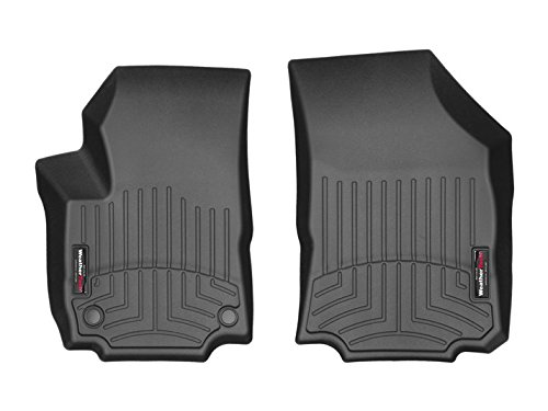 WeatherTech DigitalFit 4411761 - First Row All Weather Custom Fit Floor Liners - Fits 2018 Chevrolet Equinox - Black