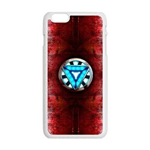 Cool Painting Iron man heart Phone Case for Iphone 6 Plus