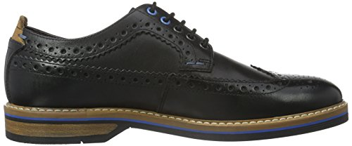 Pitney Black Scarpe Uomo Stringate Nero Limit Clarks Leather Basse Oxford 47Aqwd4gx
