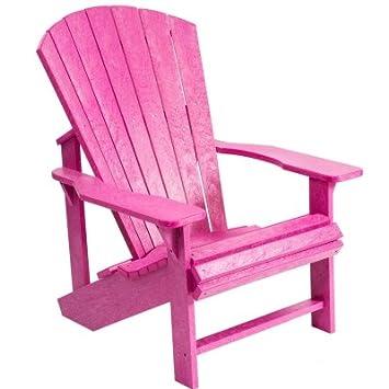 Fuchsia Polywood Adirondack Chair
