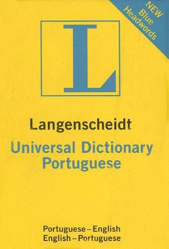 Portuguese Universal Dictionary (Langenscheidt Universal Dictionary) (Portuguese Edition)