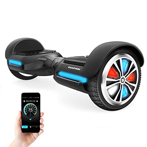 Swagtron Swagboard Vibe T588 App-Enabled Bluetooth...