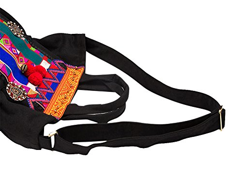 100% Handmade Handbag Purse Borsa a Tracolla Bag - Belle Oriental Ricamo Art # 160