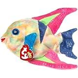 Ty Beanie Babies - Aruba the Angelfish. [Toy]