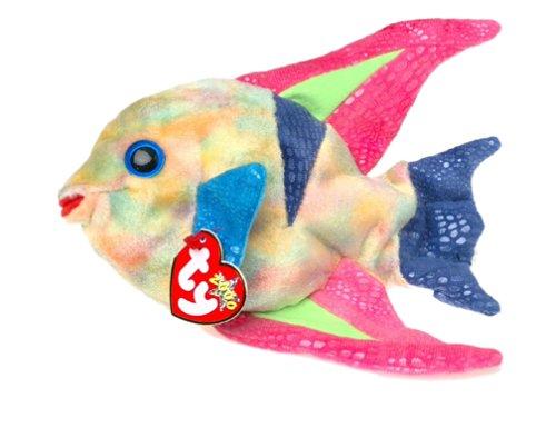 Ty Beanie Babies - Aruba the Angelfish. [Toy] -