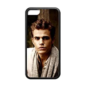 iPhone 4s Case Stefan The Vampire Diaries Paul Wesley Cover Cases for iPhone 4s TPU (Laser Technology)