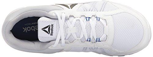 Zapatillas De Running Reebok Hombres Yourflex Train 9.0 Mt Blancas / Azul Vital / Gris Nube