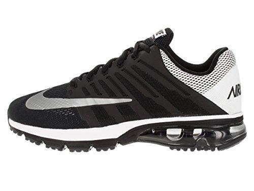 Nike Mens Air Max Excellerate 4 Prt Nero / Riflettere Argento / Bianco / Pr Pltnm Scarpa Da Corsa 11.5 Uomini Us