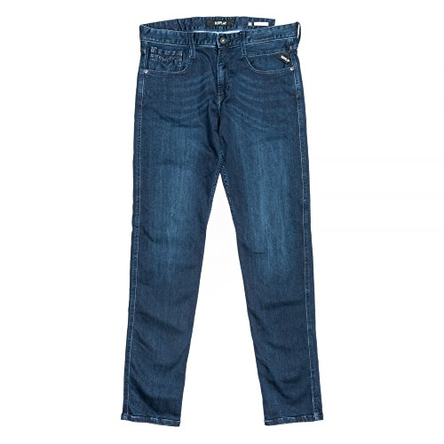 Replay Blue Anbass Slim Fit Denim Blue Jean/Denim Pants - M914-63C-923 34/32