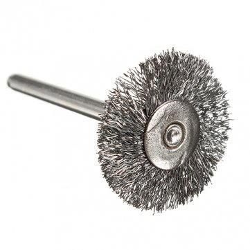 Souked Steel Wire Wheel Brushes for Dremel Accessories For Rotary Tools Motif