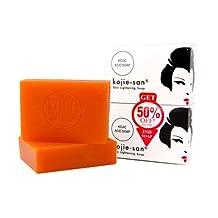 1 Kojie San Skin Lightening Kojic Acid Soap 2 Bars - 135g