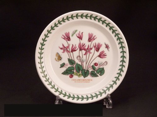 Portmeirion Botanic Garden Bread & Butter Plate(s) - Ivy Leaved Cyclamen