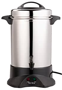 West Bend 59055 60-Cup Commercial Coffee Urn, Stainless Steel