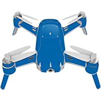Skin For Yuneec Breeze 4K Drone – Solid Blue | MightySkins Protective, Durable, and Unique Vinyl Decal wrap cover | Easy To Apply, Remove, and Change Styles | Made in the USA