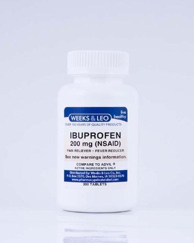 Douleur Tablet -ibuprofène 200 mg (Advil et Motrin Générique) 200count