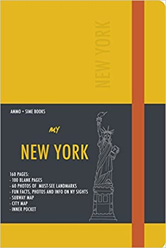 Read online New York Visual Notebook: Yellow Saffron PDF, azw (Kindle), ePub