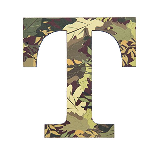 Camo Wall Letter T Camo Pattern 3d Wall Decor Unique Wall Initial For Living Room Bedroom Man Cave Boys Room Girls Room Kitchen Entryway Bathroom Kids