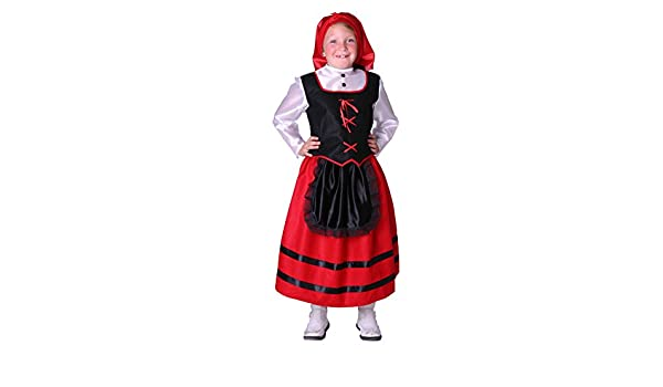 Disfraz de pastora para niña - 7 - 9 años: Amazon.es ...