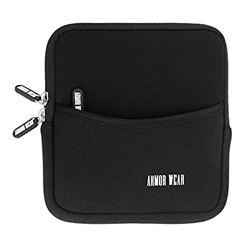 External Hard Drive Case,Armor Wear Neoprene Protective Storage Carrying Sleeve Case Pouch Bag With Extra Storage Pocket,Classic (External Hard Drive 180)