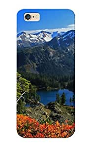 Defender Case For iphone 6 plus , Mount Baker Pattern, Nice Case For Lover's Gift