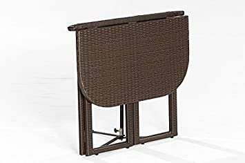 klapptisch balkon rattan bestseller shop mit top marken. Black Bedroom Furniture Sets. Home Design Ideas