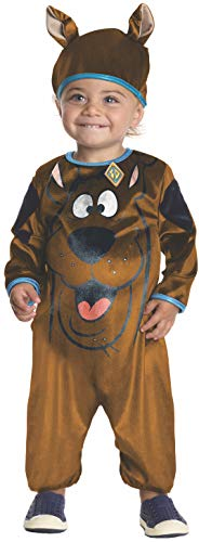 Scoobydoo Infant Costumes - Rubie's Baby Boys' Scooby Doo Costume, Multi, 1-2