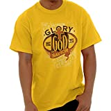 Glory God Savior Christian Shirt Jesus Christ Religious Gift T-Shirt Tee