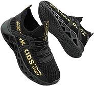 OVEKOS Kids Sneakers Boys Running Shoes Ultra Lightweight Breathable Athletic Tennis Walking Shoes (Little Kid