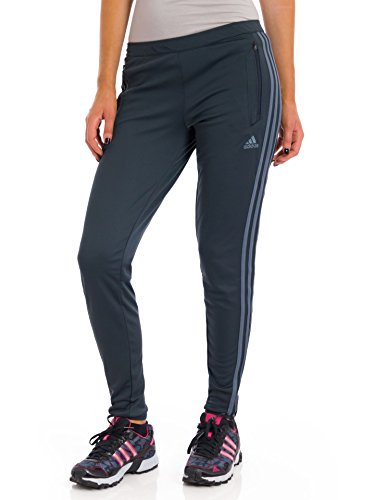 adidas Women's Tiro 13 Training Pant Dark Shale/Lead Pants MD X 32