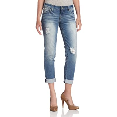 Discount KUT from the Kloth Women's Catherine Boyfriend Jean In Discover hot sale