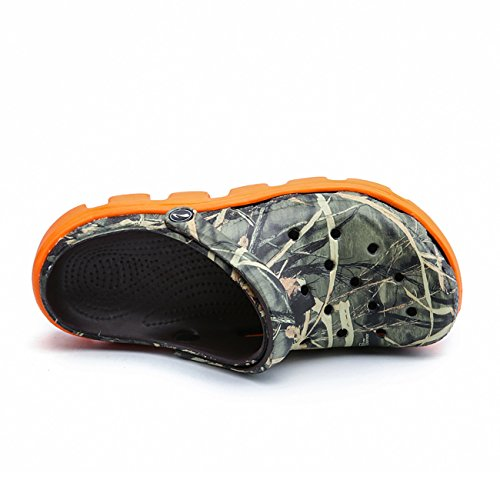 Orange XD Unisex Sandali Camouflage Adulti 712 Apodidae 7YUdaWwqq